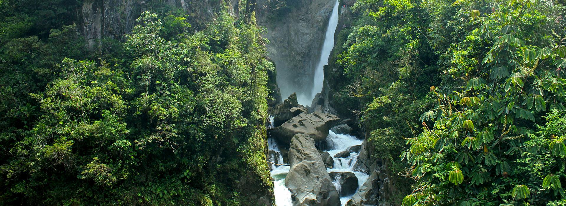 cascadas Baños